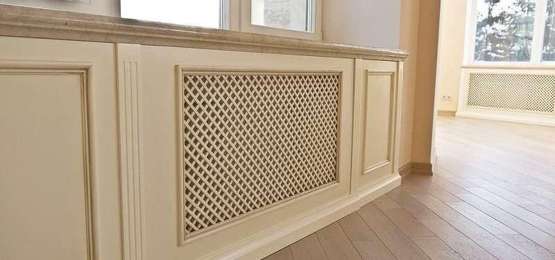 чем закрыть радиаторы отопления в собственной квартире