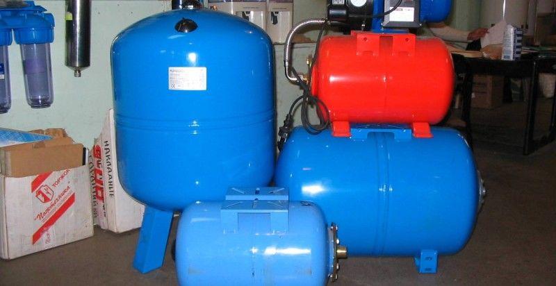 насосная станция слишком часто включается при наборе воды