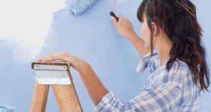 Креативим: варианты покраски стен в квартире и фото реализованных проектов