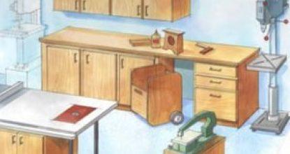 Умельцам: как обустроить мастерскую в гараже своими руками