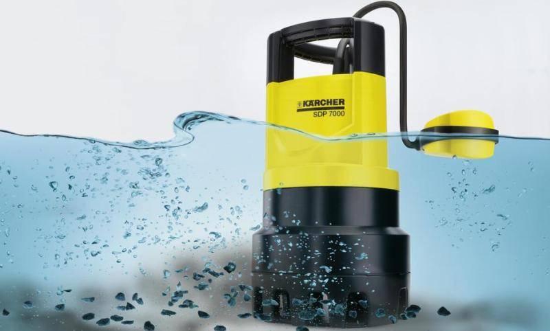 помпа Karcher SDP 7000 для откачки грязной воды