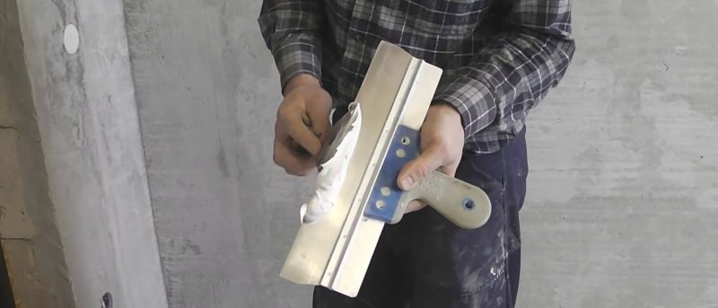 шпаклевание типового гипсокартона под покраску