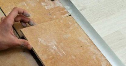 Как скрыть стык между ламинатом и плиткой и современные методы реализации
