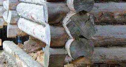 Ремонт сруба: замена венцов деревянного дома своими руками и видео процесса