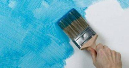 Декоративные краски или чем покрасить стены в квартире вместо обоев и примеры решений